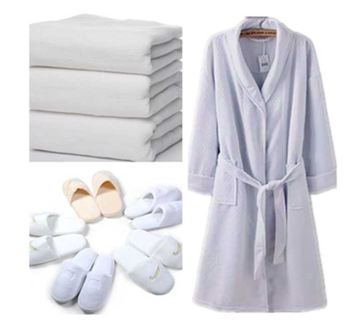 Towels, dressing gowns, slippers   Model:AL3202